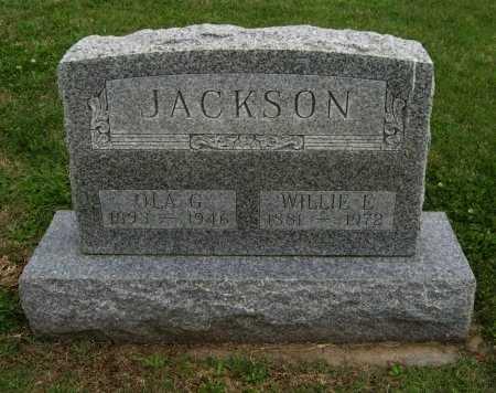 JACKSON, OLA G - Cowley County, Kansas | OLA G JACKSON - Kansas Gravestone Photos