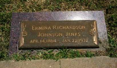 JOHNSON, ERMINA - Cowley County, Kansas | ERMINA JOHNSON - Kansas Gravestone Photos