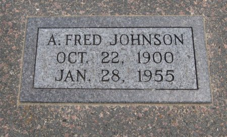 "JOHNSON, ANDREW FERDINAND ""FRED"" - Cowley County, Kansas 