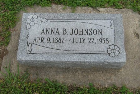 JOHNSON, ANNA BELLE - Cowley County, Kansas | ANNA BELLE JOHNSON - Kansas Gravestone Photos