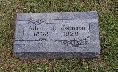JOHNSON, ALBERT JERRY - Cowley County, Kansas | ALBERT JERRY JOHNSON - Kansas Gravestone Photos