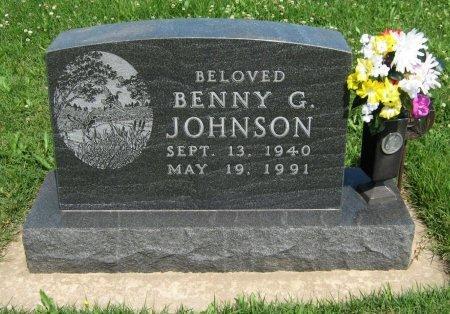 JOHNSON, BENNY G - Cowley County, Kansas | BENNY G JOHNSON - Kansas Gravestone Photos