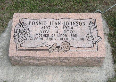 JOHNSON, BONNIE JEAN - Cowley County, Kansas | BONNIE JEAN JOHNSON - Kansas Gravestone Photos