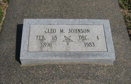 JOHNSON, CLEO MARY - Cowley County, Kansas | CLEO MARY JOHNSON - Kansas Gravestone Photos