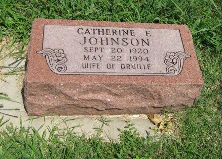 JOHNSON, CATHERINE E - Cowley County, Kansas   CATHERINE E JOHNSON - Kansas Gravestone Photos