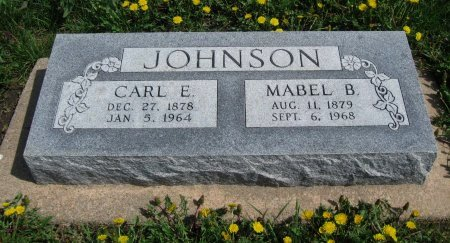 JOHNSON, MABEL LEONE - Cowley County, Kansas | MABEL LEONE JOHNSON - Kansas Gravestone Photos