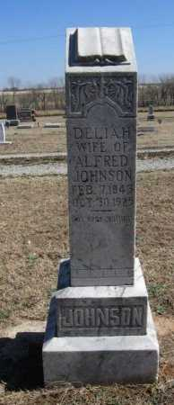 JOHNSON, DELIAH - Cowley County, Kansas | DELIAH JOHNSON - Kansas Gravestone Photos