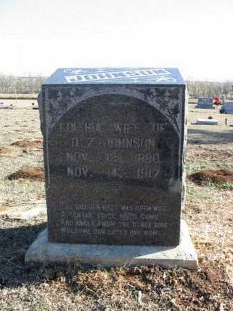 JOHNSON, EDITHIA - Cowley County, Kansas | EDITHIA JOHNSON - Kansas Gravestone Photos