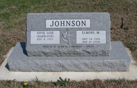 JOHNSON, ELMORE MARION - Cowley County, Kansas | ELMORE MARION JOHNSON - Kansas Gravestone Photos
