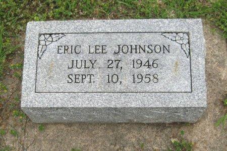 JOHNSON, ERIC LEE - Cowley County, Kansas | ERIC LEE JOHNSON - Kansas Gravestone Photos