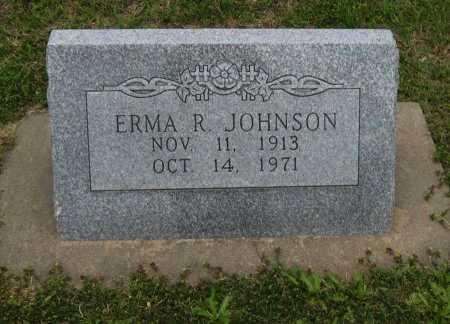 JOHNSON, ERMA R - Cowley County, Kansas | ERMA R JOHNSON - Kansas Gravestone Photos