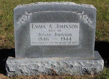 "JOHNSON, EMILY ANGELINE ""EMMA"" - Cowley County, Kansas 