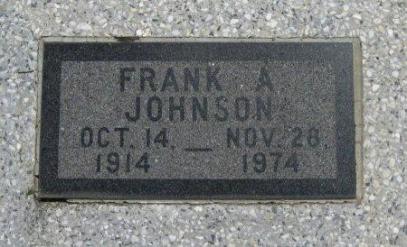 JOHNSON, FRANK A - Cowley County, Kansas   FRANK A JOHNSON - Kansas Gravestone Photos