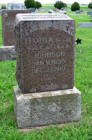 JOHNSON, FLOYD A - Cowley County, Kansas | FLOYD A JOHNSON - Kansas Gravestone Photos