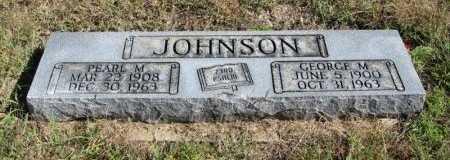 RICHIE JOHNSON, PEARL MAY - Cowley County, Kansas | PEARL MAY RICHIE JOHNSON - Kansas Gravestone Photos