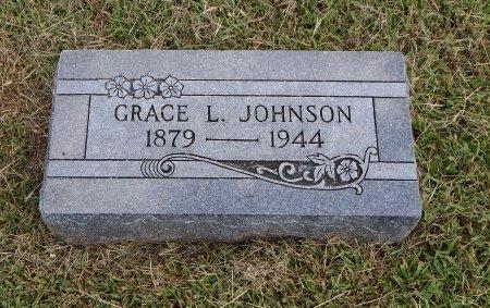 JOHNSON, GRACE L - Cowley County, Kansas | GRACE L JOHNSON - Kansas Gravestone Photos