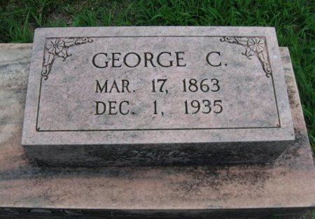 JOHNSON, GEORGE C - Cowley County, Kansas   GEORGE C JOHNSON - Kansas Gravestone Photos