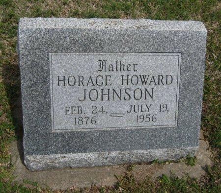 JOHNSON, HORACE HOWARD - Cowley County, Kansas | HORACE HOWARD JOHNSON - Kansas Gravestone Photos