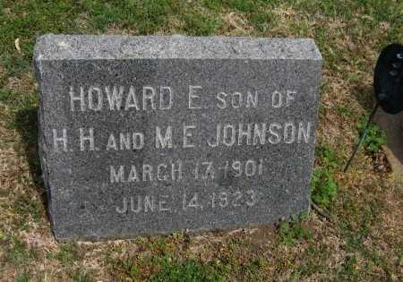 JOHNSON, HOWARD EARL - Cowley County, Kansas | HOWARD EARL JOHNSON - Kansas Gravestone Photos
