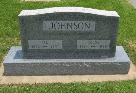 JOHNSON, IRL - Cowley County, Kansas | IRL JOHNSON - Kansas Gravestone Photos