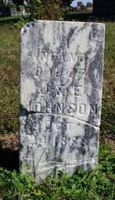 JOHNSON, INFANT DAUGHTER - Cowley County, Kansas   INFANT DAUGHTER JOHNSON - Kansas Gravestone Photos