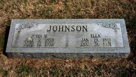 JOHNSON, JOHN W - Cowley County, Kansas   JOHN W JOHNSON - Kansas Gravestone Photos