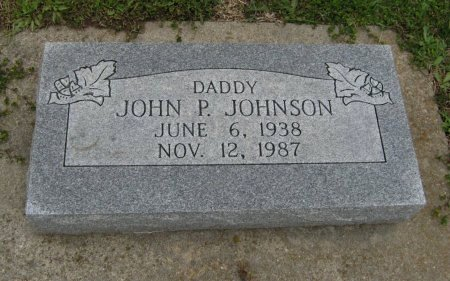 JOHNSON, JOHN P - Cowley County, Kansas   JOHN P JOHNSON - Kansas Gravestone Photos