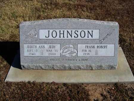 JOHNSON, FRANK ROBERT  (VETERAN) - Cowley County, Kansas | FRANK ROBERT  (VETERAN) JOHNSON - Kansas Gravestone Photos