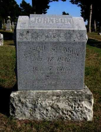 JOHNSON, JOSIAH - Cowley County, Kansas | JOSIAH JOHNSON - Kansas Gravestone Photos