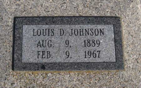 JOHNSON, LOUIS DEAN  (VETERAN WWI) - Cowley County, Kansas | LOUIS DEAN  (VETERAN WWI) JOHNSON - Kansas Gravestone Photos