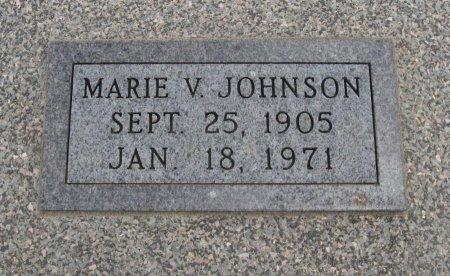 JOHNSON, MARIE VIVIAN - Cowley County, Kansas | MARIE VIVIAN JOHNSON - Kansas Gravestone Photos