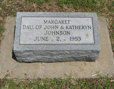 JOHNSON, MARGARET - Cowley County, Kansas | MARGARET JOHNSON - Kansas Gravestone Photos