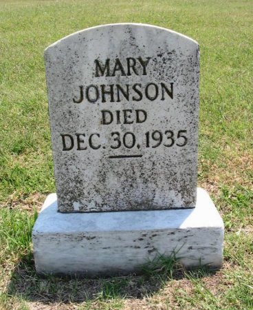 JOHNSON, MARY - Cowley County, Kansas | MARY JOHNSON - Kansas Gravestone Photos