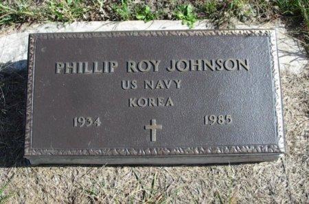 JOHNSON, PHILLIP ROY (VETERAN KOR) - Cowley County, Kansas | PHILLIP ROY (VETERAN KOR) JOHNSON - Kansas Gravestone Photos