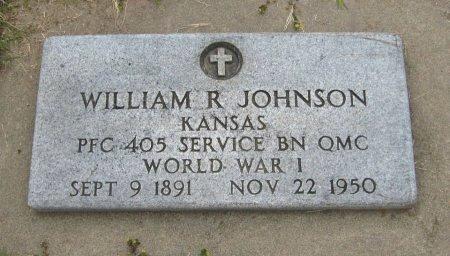 JOHNSON, WILLIAM ROBERT (VETERAN WWI) - Cowley County, Kansas | WILLIAM ROBERT (VETERAN WWI) JOHNSON - Kansas Gravestone Photos