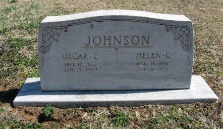JOHNSON, OSCAR Z - Cowley County, Kansas   OSCAR Z JOHNSON - Kansas Gravestone Photos