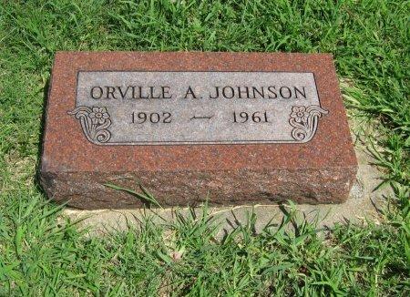 JOHNSON, ORVILLE AUGUSTA - Cowley County, Kansas | ORVILLE AUGUSTA JOHNSON - Kansas Gravestone Photos