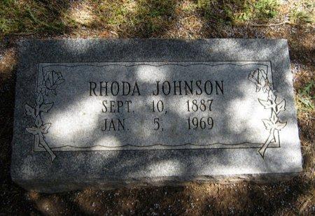JOHNSON, RHODA - Cowley County, Kansas | RHODA JOHNSON - Kansas Gravestone Photos