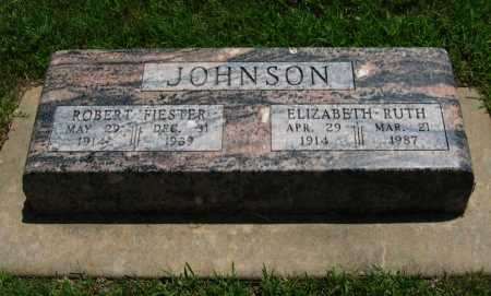 JOHNSON, ELIZABETH RUTH - Cowley County, Kansas | ELIZABETH RUTH JOHNSON - Kansas Gravestone Photos