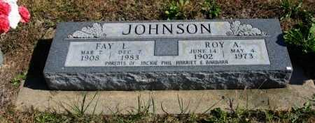 JOHNSON, ROY A - Cowley County, Kansas | ROY A JOHNSON - Kansas Gravestone Photos