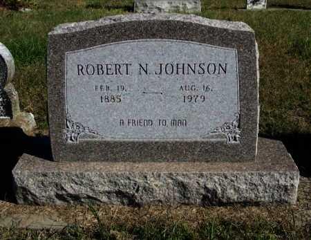 JOHNSON, ROBERT N - Cowley County, Kansas   ROBERT N JOHNSON - Kansas Gravestone Photos