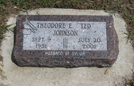 "JOHNSON, THEODORE E ""TED"" - Cowley County, Kansas 
