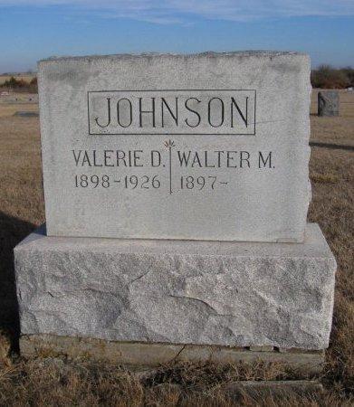 JOHNSON, VALERIE D - Cowley County, Kansas | VALERIE D JOHNSON - Kansas Gravestone Photos