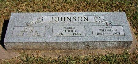 JOHNSON, MARIAN AMY - Cowley County, Kansas | MARIAN AMY JOHNSON - Kansas Gravestone Photos