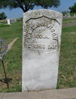 JOHNSON, WILLIAM ELLIOTT (VETERAN UNION) - Cowley County, Kansas | WILLIAM ELLIOTT (VETERAN UNION) JOHNSON - Kansas Gravestone Photos