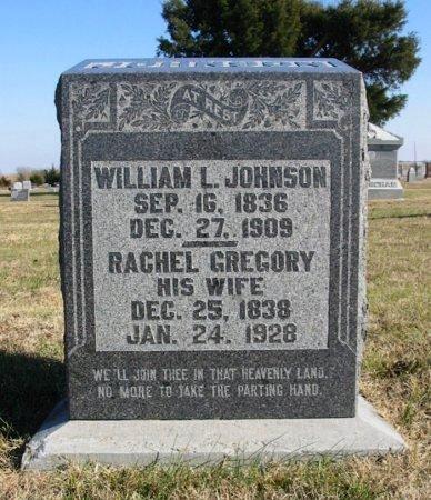 JOHNSON, WILLIAM LINDSEY - Cowley County, Kansas | WILLIAM LINDSEY JOHNSON - Kansas Gravestone Photos