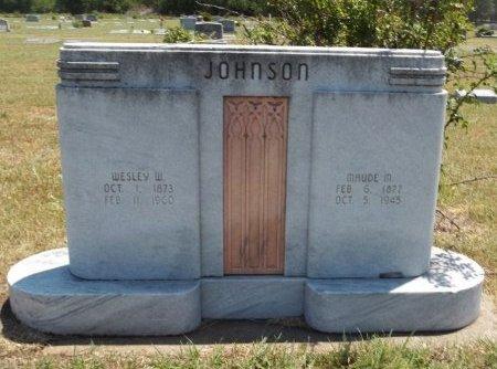 JOHNSON, MAUDE MAY - Cowley County, Kansas | MAUDE MAY JOHNSON - Kansas Gravestone Photos