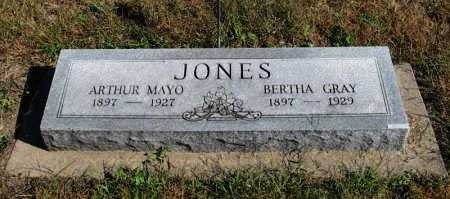 JONES, BERTHA - Cowley County, Kansas | BERTHA JONES - Kansas Gravestone Photos