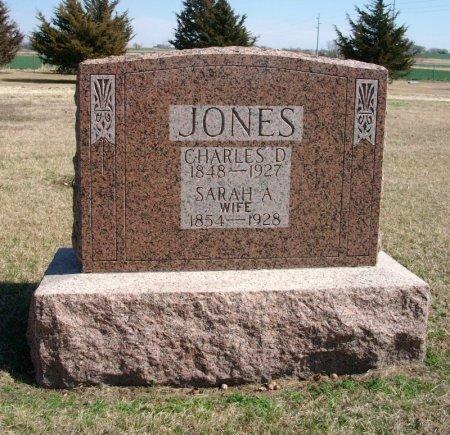 JONES, SARAH A - Cowley County, Kansas   SARAH A JONES - Kansas Gravestone Photos