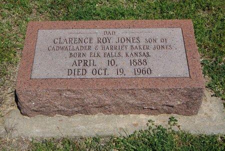 JONES, CLARENCE ROY - Cowley County, Kansas | CLARENCE ROY JONES - Kansas Gravestone Photos